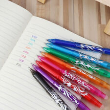 Gel Pen Rollerball Pen 8Colors Erasable 0.5 mm Refills Stationery Student New