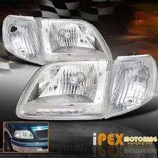 Brightest LED Headlights Set For 1997-2003 Ford F150 SVT Lariat Harley Davidson
