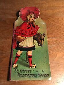 Libro-Le Petit Chaperon Rouge-Cappuccetto Rosso-Edition Nilsson Parigi 1900
