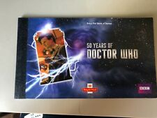 Years of doctor who book of stamps stamp value £15.22