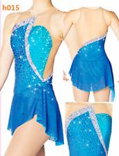 Ice Figure Skating Dress Girl Competition Ice Skating Dress Custom made  h015