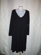 Long Sleeve Soft Dress 2XL Old Navy Color Black 65% rayon viscose 15% polyester