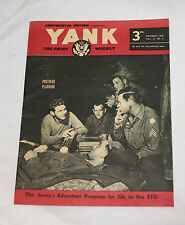 1945 SEPTEMBER 2 YANK ARMY WEEKLY MAGAZINE CONTINENTAL EDITION POSTWAR PLANNING