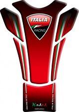 Keiti Slimline Motorcycle Tank Pad Protector | Italian & Red Ducati