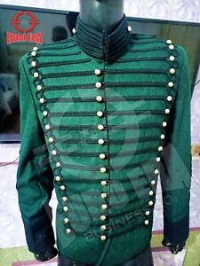 Napoleonic 95th Rifles Officers Tunic Jacket ,Richard Sharpe Hussars Jacket