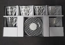 Service à café en porcelaine 6 tasses et 6 sous tasses neuf