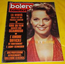 BOLERO FILM 1973 n. 1386 Laura Antonelli, Franco Nero, Romy Schneider, Dorelli