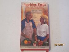 Nutrition Facts: The New Food Label vhs 1994 Aid Association For Lutherans jk208