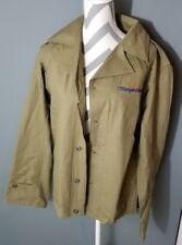 Jimmy Buffett's Margaritaville Icon map jacket Size S, khaki green MSRP 70$ w12