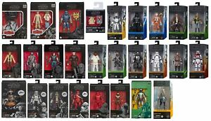 """Star Wars The Black Series 6"""" Action Figures - 73 Variations to Choose 10/6/2021"""