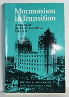 1996 Book Mormonism in Transition History of the Latter-Day Saints Thomas Al.