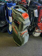 New listing sun mountain c-130 cart bag moss black inferno