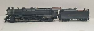 Sunset Models HO Brass PRR Pennsylvania M1 4-8-2 Steam Locomotive Custom Paint