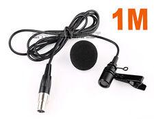 Lavalier Lapel Tie-clip Microphone for Shure Wireless Mini 4 PIN XLR