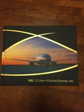 Boeing 20 Years Of Business Jets Book  2016