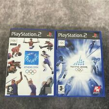 Athens 2004 + Torino 2006 ps2 Playstation 2 PAL Spiel Olympics Winter