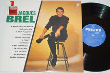 JACQUES BREL -N° 1- LP Philips Records (P 77.860 L) near mint