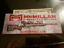 McMillan Firearms authentic sticker new Sniper