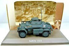 Atlas Editions 1:43 - REF.NO.KP26 SDKFZ 222 armée allemande
