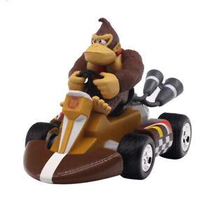 Super Mario Bros Donkey Kong Pull Back Racers Racing Kart Car Toy 9CM New