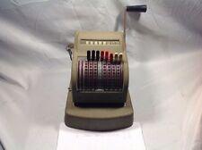 Vintage Speedrite Check Writer Sackett Oil Company Dundee New York