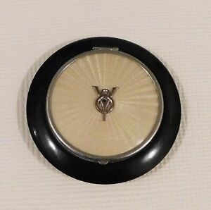 FORD 1940'S ERA PROMOTIONAL V8 LADIES POWDER COMPACT