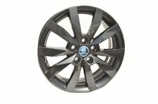 "Original SKODA set of aloy wheel CRYSTAL 6J x 17"" 5E0071497E FL8"