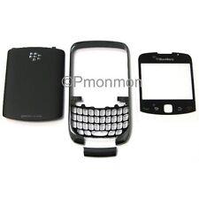 Blackberry Curve 3G 9300 Titanium Housing w Lens & Door