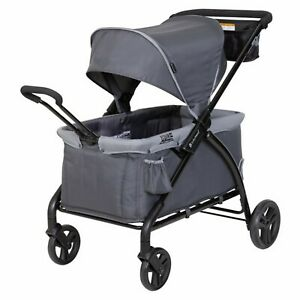 Baby Trend 2-in-1 Stroller Wagon Folding 2 Passenger Baby Kids 0 to 48 month New