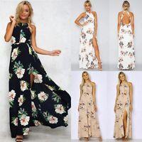 Women Summer Boho Long Maxi Evening Party Cocktail Dress Beach Dresses Sundress