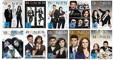 Bones Staffel 1-10 (1+2+3+4+5+6+7+8+9+10) DVD Set NEU OVP Die Knochenjägerin
