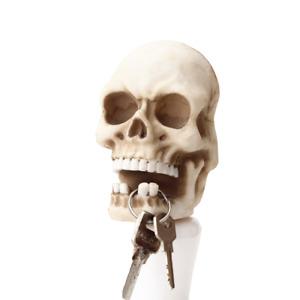 Skull Key Storage Hook Wall Mount Keys Hanger Resin Skeleton Accessories Holders