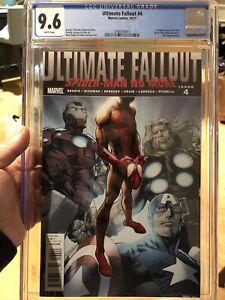 Ultimate Fallout 4 CGC 9.6 NM+ 💥 Mark Bagley Cover 💥 1st Miles Morales L@@K!