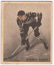 1933-34 V357 Ice Kings Hockey Card #44 Normie Himes RC (EX)
