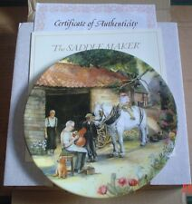 Royal Doulton Collectors Plate THE SADDLE MAKER