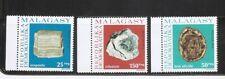 Malagasy Republic SC # 550-552 Minerals  . MNH