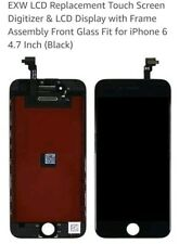 "Replacement Screen 4.7"" Digitizer & LCD Display with Frame For iphone 6 BLACK"