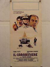 IL CARABINIERE regia Silvio Amadio locandina originale 1981