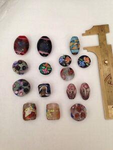 Mixed Bag Of Czech Glass Beads UNIQUE L@@K SALE