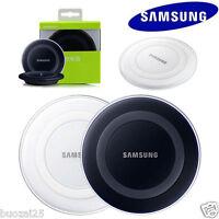Borde sin hilos carga Pad Qi cargador para Samsung Galaxy S6 S7 S8 S9 original 5