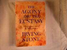 The Agony and the Ecstasy By Irving Stone 1961 SIGNED First Edition