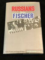 Boris Spassky World Chess Champion Russians Vs Fischer Signed Autograph Book