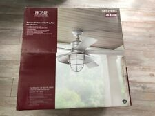 "Home Decorators Collection 54"" Grayton Indoor/Outdoor Ceiling Fan Galvanized New"