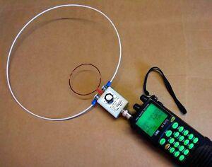 HF - VHF Loop Antenna for Portable Radio Scanner Receiver icom Yaesu AOR Kenwood