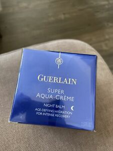 Guerlain super aqua creme nignt balm New! 50ml / 1.6 fl oz