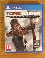 Tomb Raider -- Definitive Edition (Sony PlayStation 4, 2014)