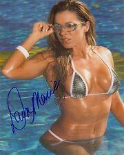 DAWN MARIE ECW WWF WWE SIGNED AUTOGRAPH 8X10 PHOTO #2 W/ COA