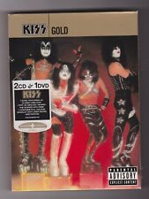 Kiss ~ Gold (2CD & 1DVD) Sound & Vision Deluxe Box Set