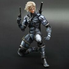 Flawed Box Metal Gear Solid 2 Sons of Liberty Raiden Play Arts Kai Action Figure
