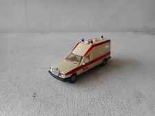 1:87 HERPA  HO MERCEDES BENZ  AMBULANCE  (2) GOOD CONDITION